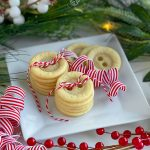 Adorable Button Cookies Made with Sugar Cookie Dough
