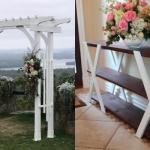 Diy Outdoor Wedding Decoration Tutorials And Plans Remodelaholic