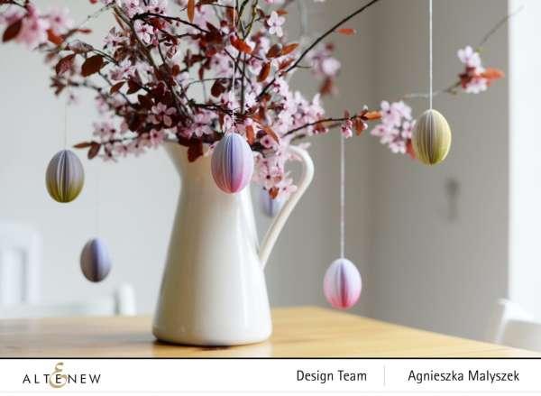 Paper Easter Egg Decorations – scrap booking