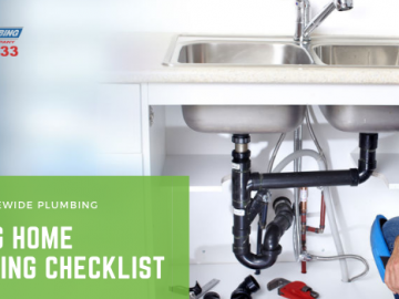 Spring home plumbing checklist