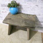 simple and easy DIY wooden step stool plans