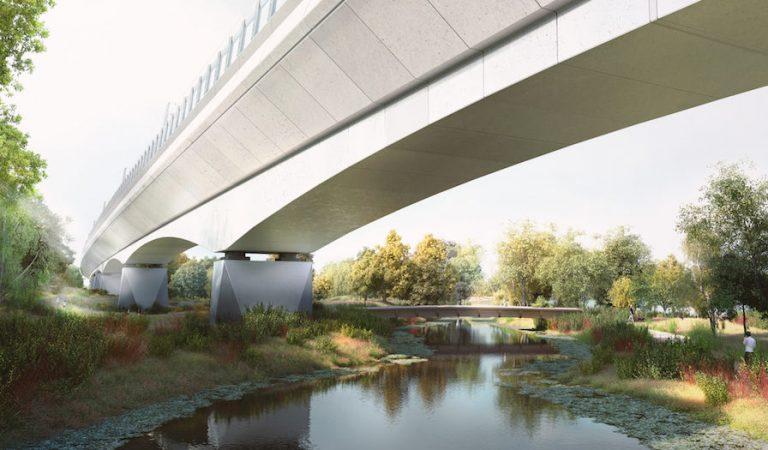 UK Railroad Bridge of Standard Length Departure |  2021-03-18