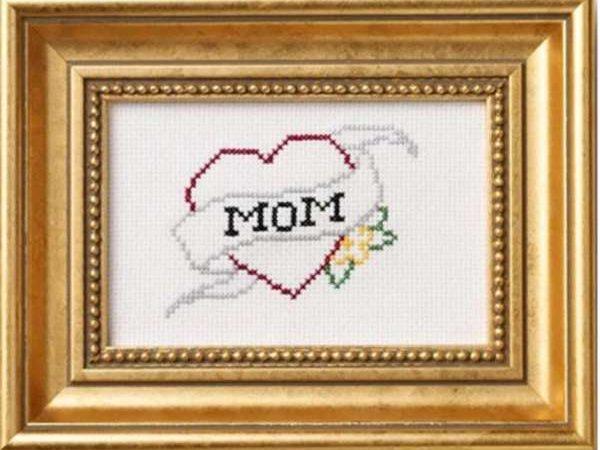 Mom Pattern Cross Stitch – Cross Stitch