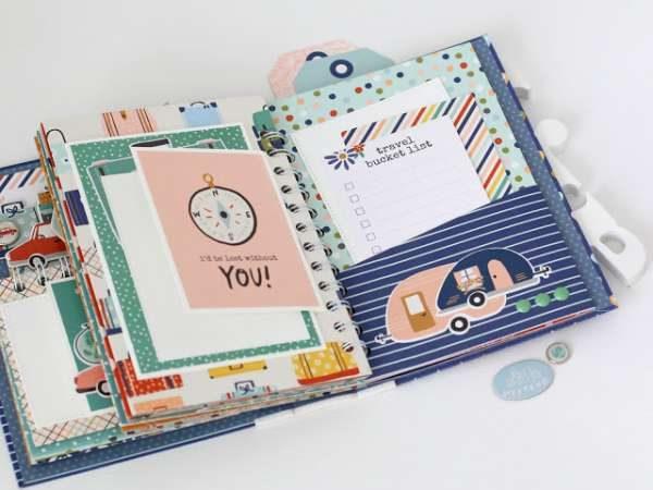Travel Mini Album – Book Scraps