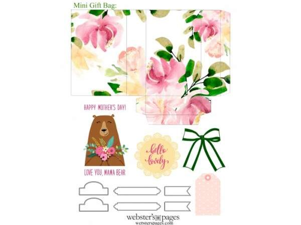 Free Printable Mother's Day Gift Bag – Scrap Book