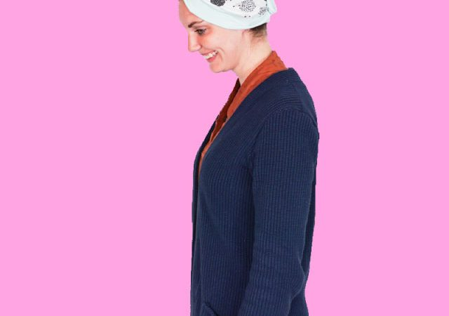 Wrap a Hair Towel from Jersey Fabric – Sewing Lessons – Sewing