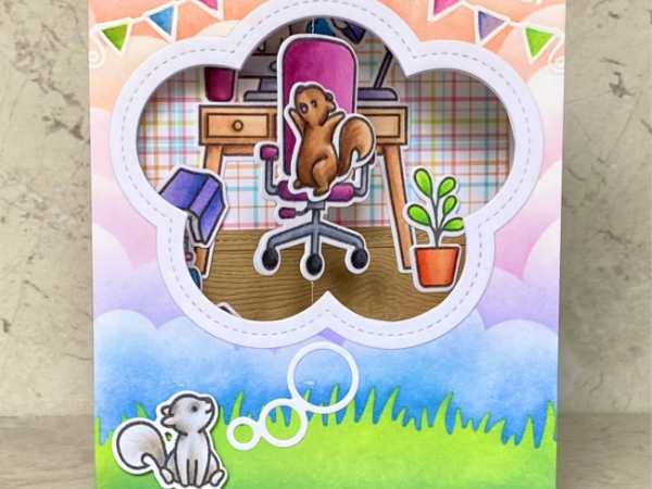 Spinner Congratulations Card – Gossip Craft