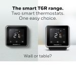 T6 range of smart thermostats simplified