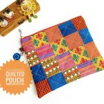 Mini Charm Square Quilted Pouch Sewing Tutorial