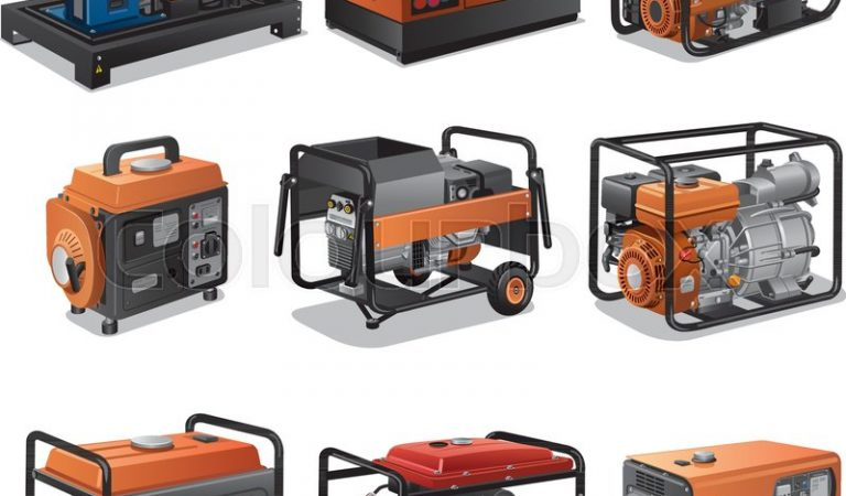 What are the three different types of generators?